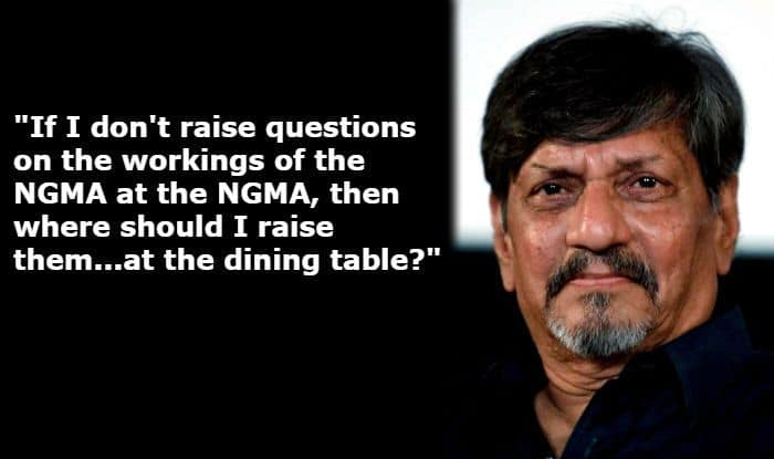 Amol Palekar on NGMA Controversy: If I Don't Raise Questions on Workings of NGMA at NGMA, Then Where Should I Raise Them?