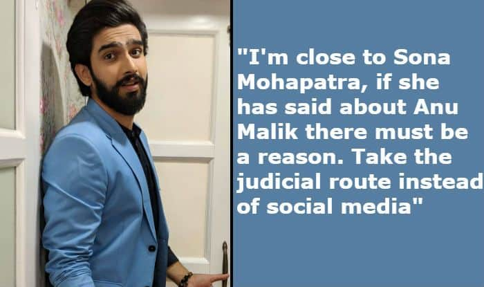 Anu Malik #MeToo Case: Amaal Mallik Says 'There Would be Reason Behind Sona Mohapatra's Allegations' Against His Uncle