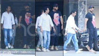 Malaika Arora-Arjun Kapoor Clicked Hand-in-Hand as They Meet Designer Vikram Phadnis-See Photos