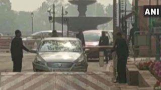 कांग्रेस सांसद की कार संसद भवन के सिक्योरिटी बैरियर से टकराई, एक्शन में आए अलर्ट जवान