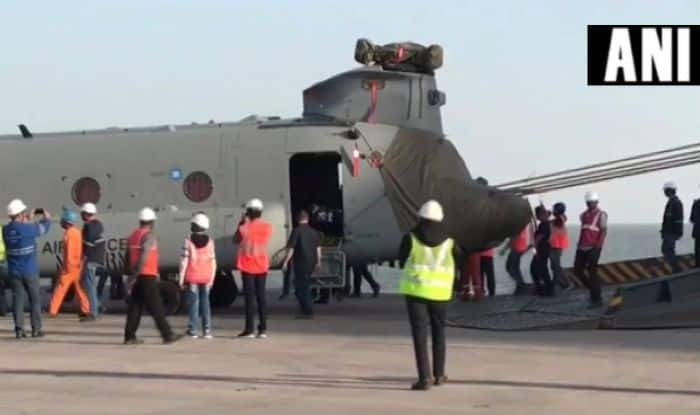 Chinook Military Helicopters For Indian Air Force Delivered by Boeing