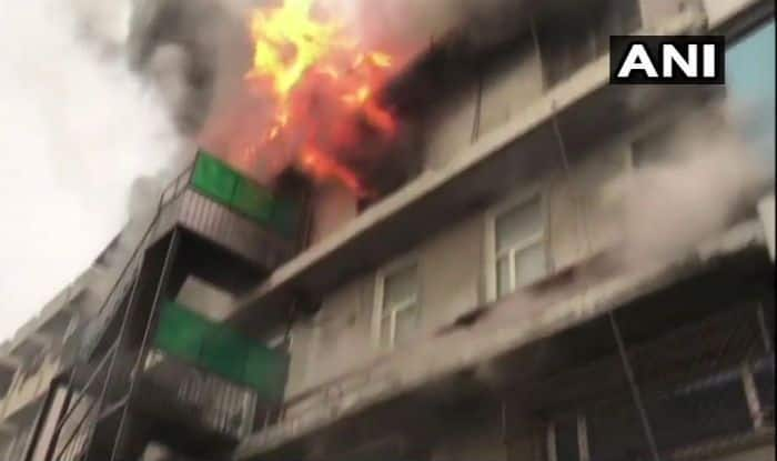 Delhi: Fire Breaks Out at Naraina Paper Factory, 29 Fire Tenders on Spot