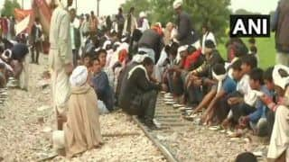 Gujjars Refuse to Leave Railway Tracks as Protest Enters Day 5; Three Trains Cancelled, 2 Diverted