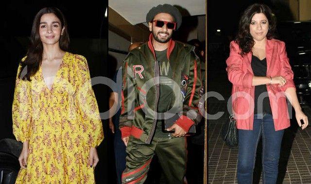 Gully Boy Special Screening: Ranveer Singh-Alia Bhatt Look Cheerful, Ananya Pandey, Shweta Bachchan And Others Attend