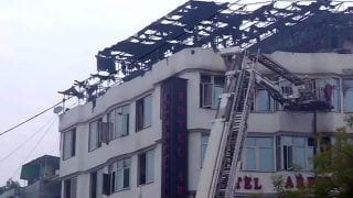 Delhi: 17, Including Two-year-old, Die in Hotel Fire; CM Arvind Kejriwal Announces ex-Gratia of Rs 5 Lakh For Kin of Deceased