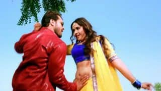 Bhojpuri Hot Couple Khesari Lal Yadav-Kajal Raghwani's Sensuous And Sexy Dance on Saj Ke Sawar Ke Crosses 106 Million Views on YouTube, Watch