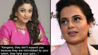 Tanushree Dutta's Open Letter For Kangana Ranaut Supporting Her in Fight Against Bollywood is Important
