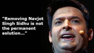 Kapil Sharma Says Ousting Navjot Singh Sidhu is Not a Permanent Solution of Pulwama Terror Attacks