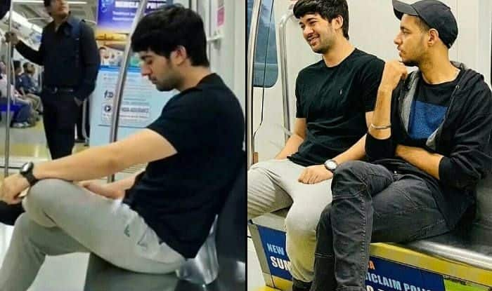 Sunny Deol's Son Karan Deol Spotted Taking Mumbai Metro to Work With Friend, Picture Goes Viral