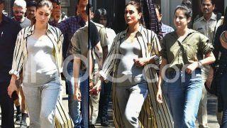 Kareena Kapoor Khan Pregnant: New Photos Show Actress Flaunting Baby Bump on Sets of Good News