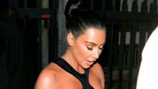 Kim Kardashian Wears The Most Controversial Hot Dress of This Year so Far, Photos Will Make Your Jaw Drop