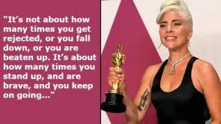 Oscars 2019 Best Inspiring Speeches: From Lady Gaga, Serene Williams to Rami Malek And Regina King, Who Said What at 91st Academy Awards