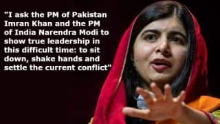 Malala Yousafzai Urges Imran Khan And Narendra Modi to 'Shake Hands' And 'Say no to War' Between India And Pakistan