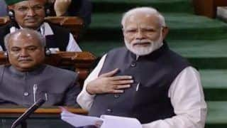 PM Modi Tears Into Congress in Lok Sabha, Launches Frontal Attack Over Rafale, Unemployment And Grand Alliance