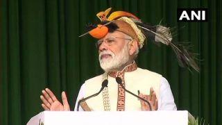 अरुणाचल में पीएम मोदी, 4000 करोड़ रुपए की परियोजनाओं का उद्धाटन किया