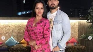 Bhojpuri Hot And Sexy Actress Monalisa Celebrates Valentine's Day With Husband Vikrant Singh Rajpoot  - See Drool-Worthy Pics