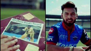 IPL 2019: Delhi Capitals Rishabh Pant Hails Chennai Super Kings MS Dhoni in Promotional Ad | WATCH VIDEO