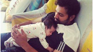 रोहित शर्मा को बेटी ने दी 'जादू की झपकी', ऑस्ट्रेलिया सीरीज से पहले न होश है, खबर है