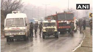 कश्मीर में CRPF के काफिले पर आतंकी हमला, 12 जवान शहीद, जैश ए मोहम्मद ने ली जिम्मेदारी
