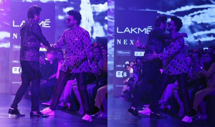 Anil Kapoor Walks The Ramp at Lakme Fashion Week 2019, Ranveer Singh Turns Cheerleader