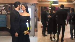 Sushmita Sen Walks Confidently in 7 Inch Heels as Her 'Jaan' Rohman Shawl Has Got Her Back, Watch