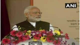Modi in Bihar: PM Lays Foundation Stone of Developmental Projects, Pays Tribute to Soldiers Killed in Pulwama Terror Attack