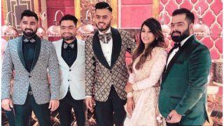 क्रिकेटर नीतीश राणा ने गर्लफ्रेंड से रचाई शादी, KKR ने शेयर की फोटो