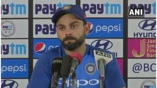 India vs Australia - Logical Would Have Been to Play Couple of More ODIs Ahead of World Cup: Virat Kohli