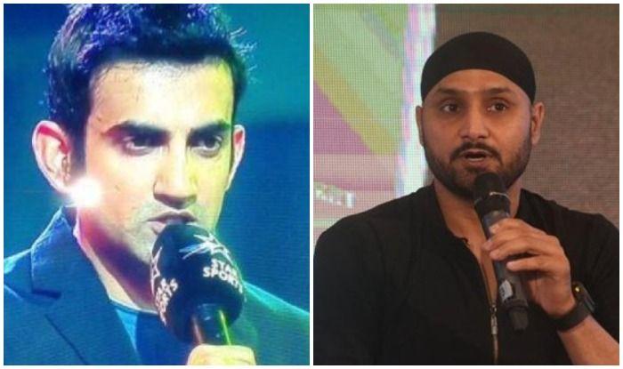 क्रिकेट शो में हरभजन सिंह ने किया गौतम गंभीर को 'टारगेट', बहुत ज्यादा बोलने लगे हैं?