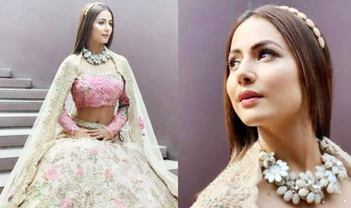 TV Hottie Hina Khan's Latest Pictures Look Straight Out of a Fairy Tale