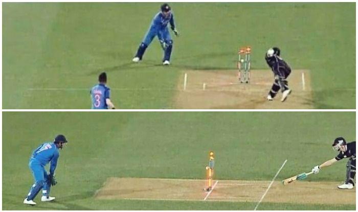 'धोनी स्टंप के पीछे हों तो क्रीज कभी न छोड़ें' ICC की बल्लेबाजों को सलाह