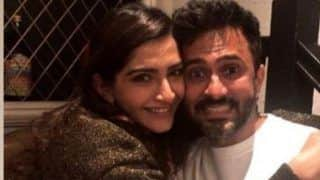 Sonam Kapoor Ahuja Gives a Big Hug to Husband Anand Ahuja, Latter's Hilarious Expression Steals The Show; See Picture