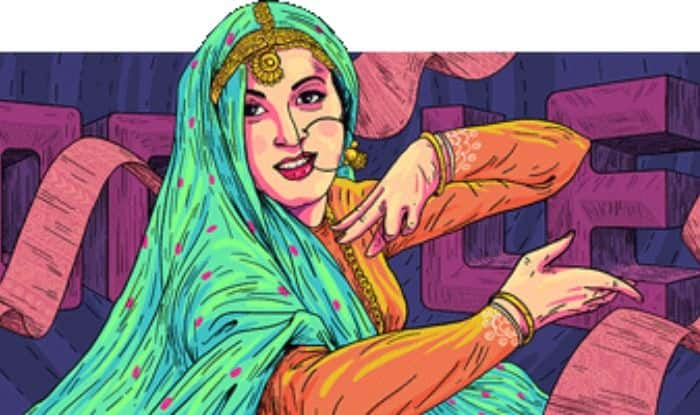 Google Remembers Madhubala on Her 86th Birthday, Pays Beautiful Tribute Through Doodle of Anarkali of Bollywood