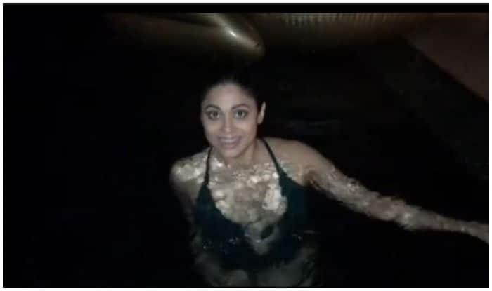 Shamita Shetty Reveals Her 'Best And Beast' Side on 40th Birthday, Undertakes Challenge to Hold Breath Inside Pool