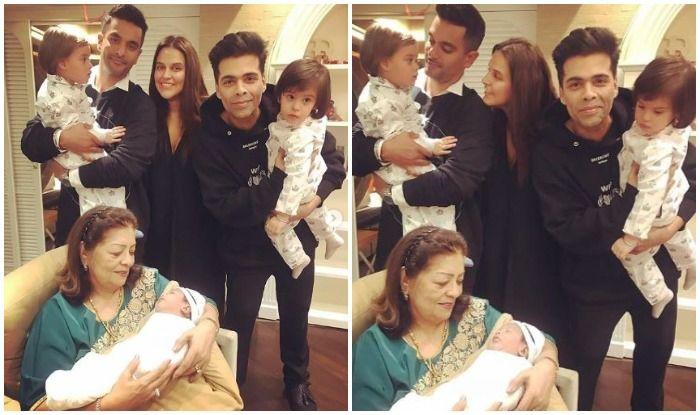 Karan Johar's Kids Yash-Roohi Receive an Adorable Birthday Wish From Neha Dhupia, Twins Turn Two Today