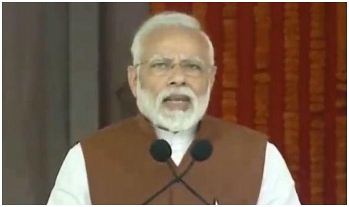 आंध्र प्रदेश की रैली में पीएम मोदी का हमला-चन्द्रबाबू नायडू ने अपने ससुर की पीठ में छुरा घोंपा