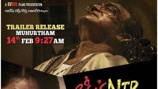 Lakshmi's NTR Trailer Out: Ram Gopal Varma's Intense Take on Politician's Life is Expected to Stir Controversies, Video Garners Over 10 Lakh Views