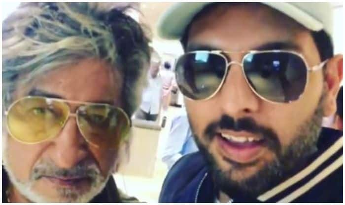 Yuvraj Singh Lives a Fanboy Moment With Shakti Kapoor at Mumbai Airport, Makes Him do The Expected For His Instagram Video