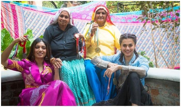 Taapsee Pannu-Bhumi Pednekar Begin Shooting for Saand Ki Aankh, Movie Based on World's Oldest Women Sharpshooters