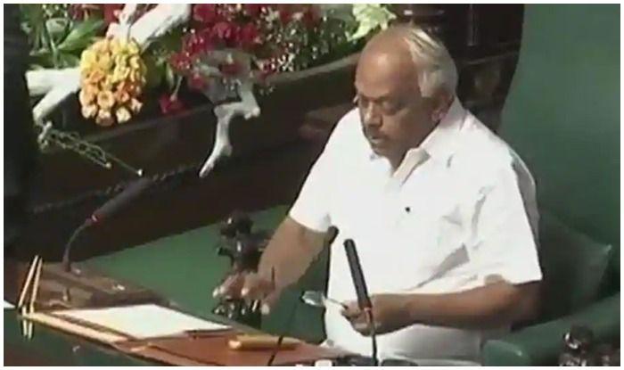 ऑडियो क्लिप विवाद: कर्नाटक विधानसभा अध्यक्ष ने अपनी तुलना रेप पीड़िता से की