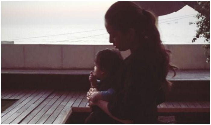 Mira Rajput Kapoor's Picture Bonding With 'Dumpling' Zain Kapoor on Evening Stroll is Sure to Melt Your Heart
