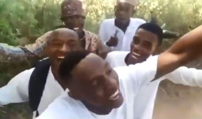 Nigerian boys sing Bholi Si Surat