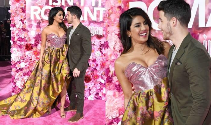 Priyanka Chopra-Nick Jonas Have Eyes Only For Each Other at The World Premiere of Isn't It Romantic