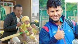 India vs Australia 2019: Rishabh Pant Thanks Virender Sehwag For Showing Him How to Play Cricket And do Babysitting | SEE POST