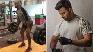 Shikhar Dhawan and Rohit Sharma Grind Hard Ahead of Upcoming T20 Series Versus Aaron Finch-Led Australia | SEE VIDEO