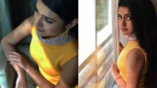 Oru Adaar Love Actress Priya Prakash Varrier Looks Hot Yet Sexy in Yellow Dress- See Pics