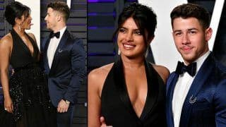 Priyanka Chopra-Nick Jonas Look Fabulous at Oscars 2019 Vanity Fair Party; Actress Wears Black Elie Saab Gown - See Pics