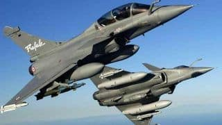 'Welcome Home You Beast': Netizens' 'Josh' Amps up as Rafale Fighter Jets Land at Ambala Air Force Base