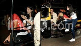 Sara Ali Khan-Ananya Pandey Take an Auto Rickshaw Ride in Mumbai - See Latest Photos