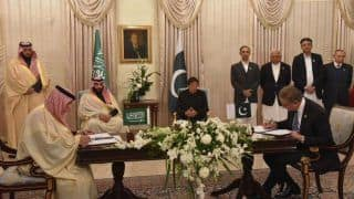 Saudi Arabia, Pakistan Sign $20 Billion Deals; India Next Stop For Crown Prince